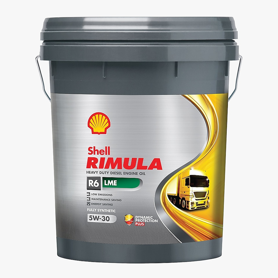 Heavy-duty diesel engine oils, Shell Rimula - R6 LME 5W 30