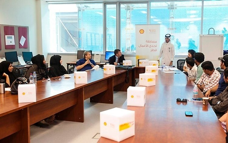 Bedaya and Qatar Shell Launch 'Enterprise Challenge Qatar' 2014