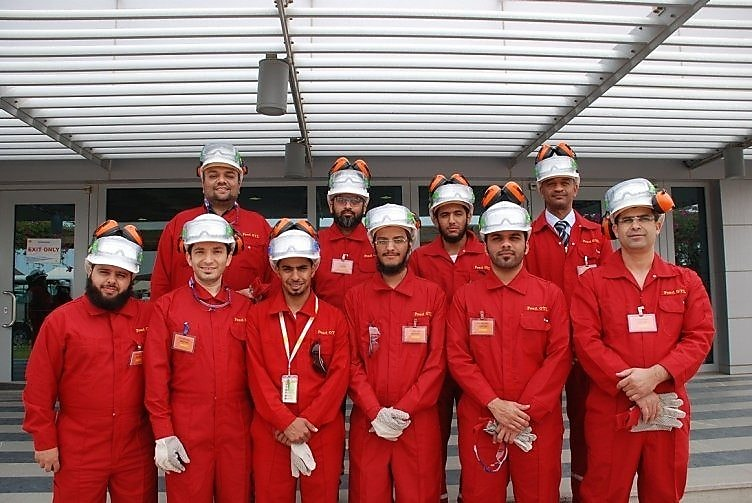 Qatar University students tour Pearl GTL, the world's largest Gas-To-liquids energy project