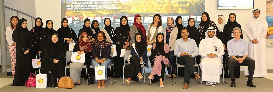 QATAR UNIVERSITY STUDENTS ACHIEVE OUTSTANDING PERFORMANCE IN SHELL TECHNICAL EXERCISE