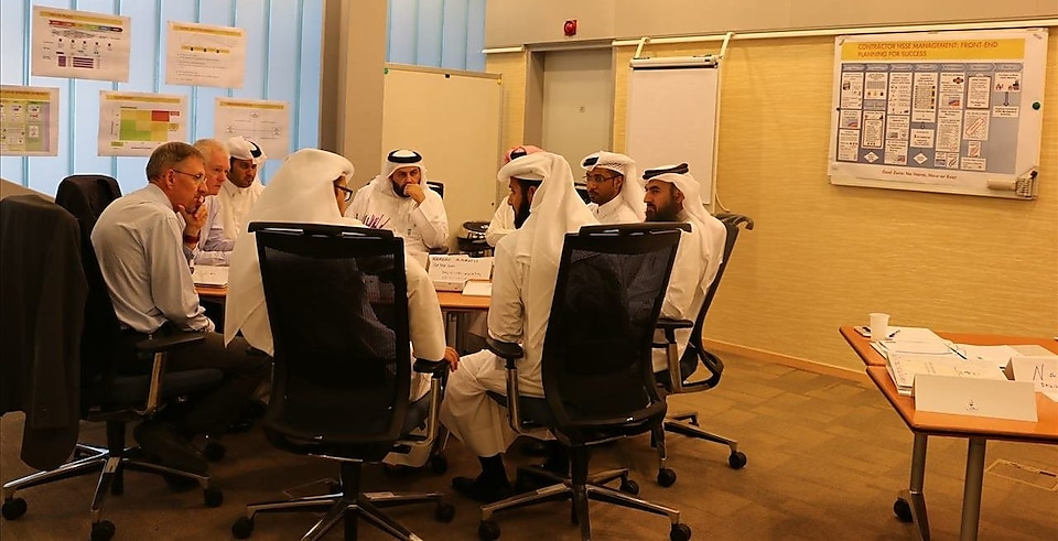 Tafawoq held HSSE leadership master class for qatar's project management community
