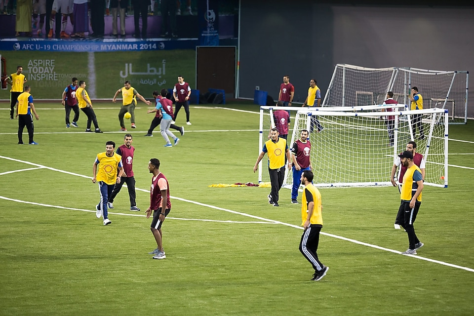 Qatar Football Association (QFA), and Qatar Shell organised a two-day coaching seminar at Aspire Zone this weekend
