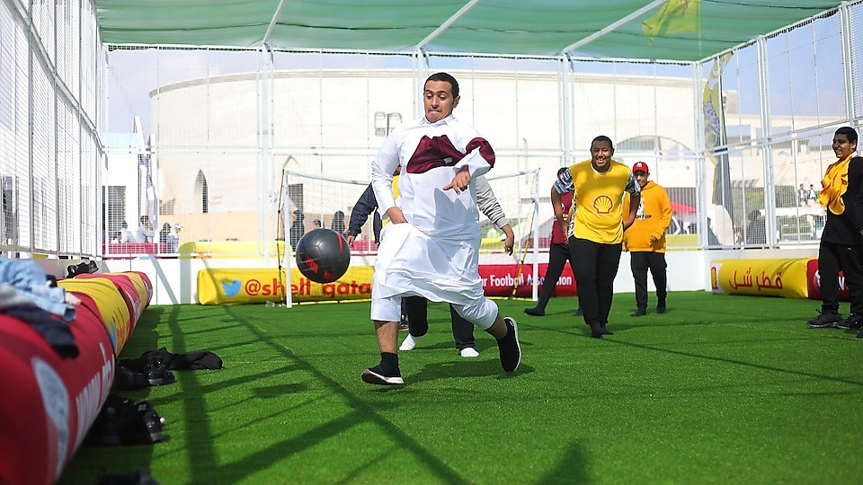 The Koora Time's National Sport Day event