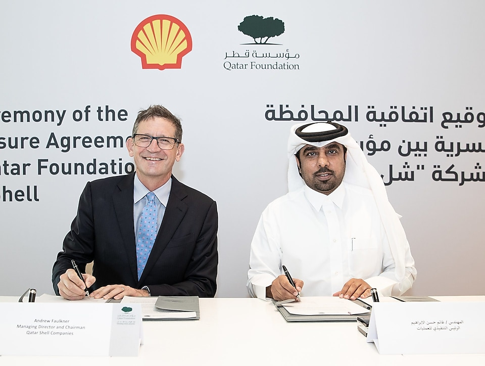 QF Qatar Shell Agreement